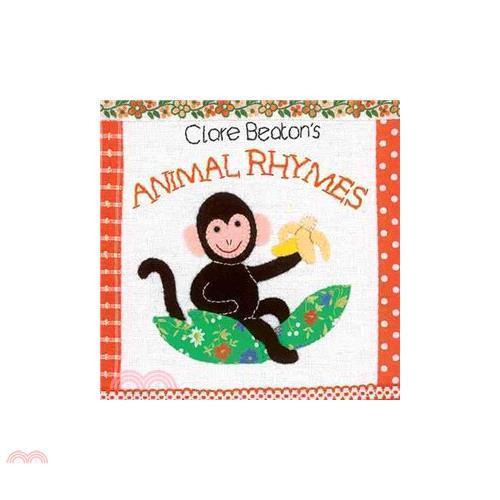 Clare Beaton's Animal Rhymes【三民網路書店】(硬頁書)[79折]