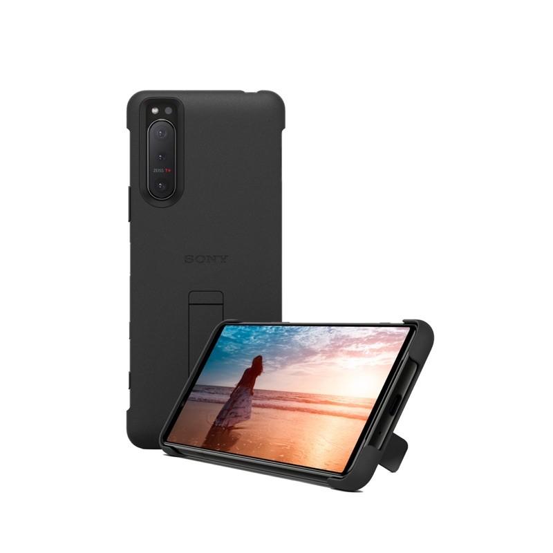 全新品 Sony Xperia 5 II 專用的可立式時尚保護殼 XQZ-CBAD 皮套 背蓋 保護殼 原廠 保護套