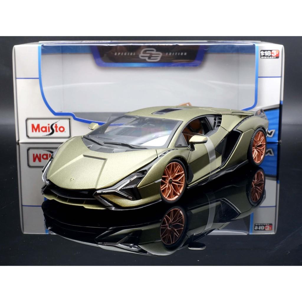 Maisto 1/18 Lamborghini Sian FKP 37 MASH
