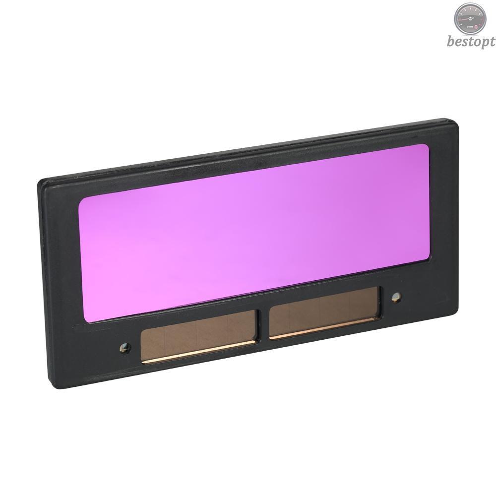 现货 光控變色鏡片電焊面罩專用焊接鏡片太陽能自動變光液晶鏡片變光片