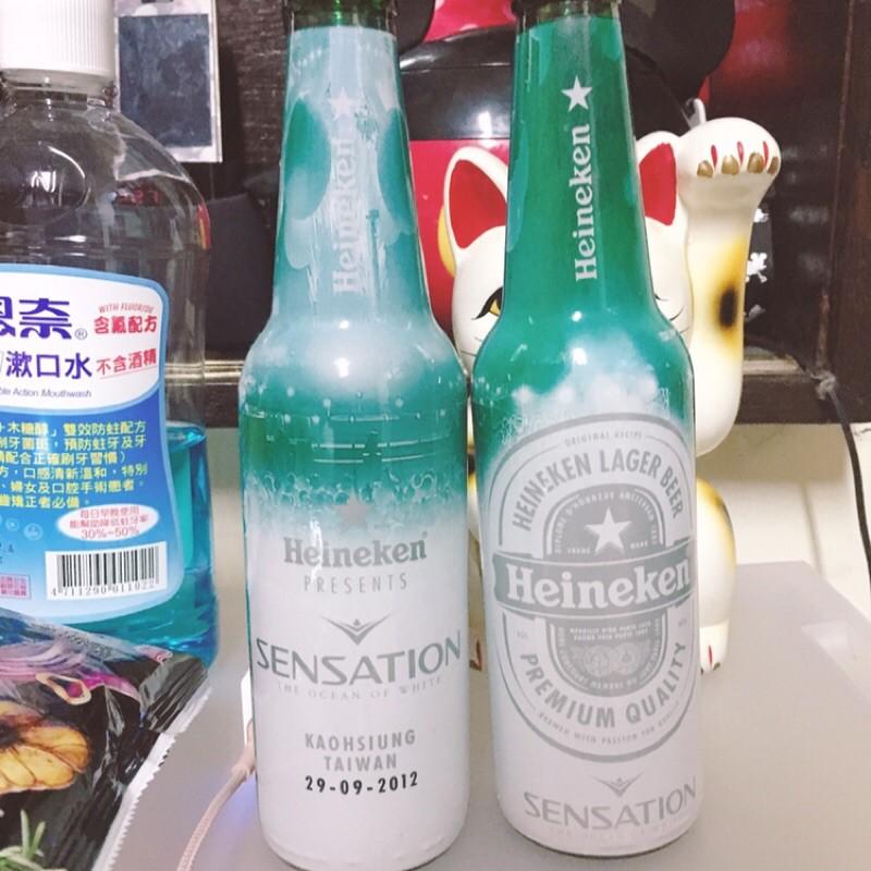 「搬家 斷捨離  」海尼根 Sensation白色聖潮 紀念瓶 未開封
