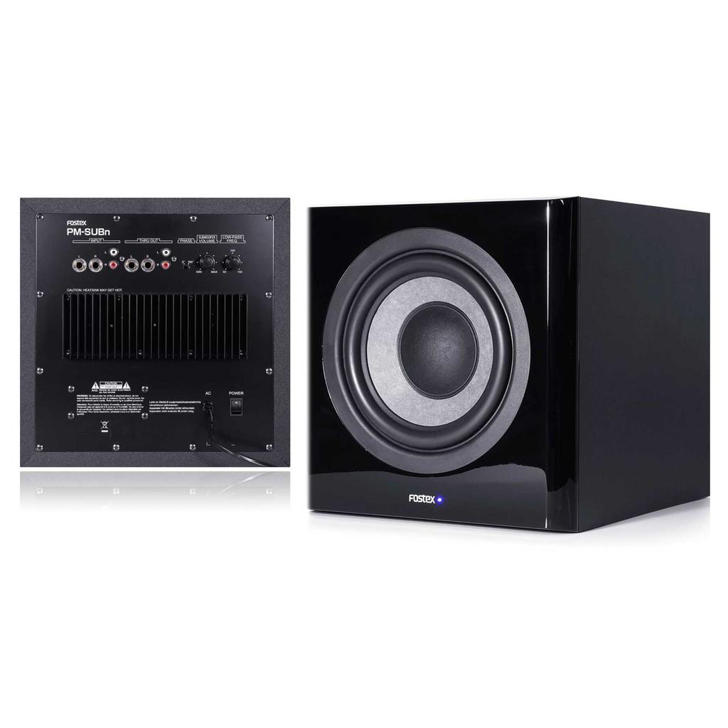 FOSTEX PM-SUBn 主動式 重低監聽喇叭 公司貨