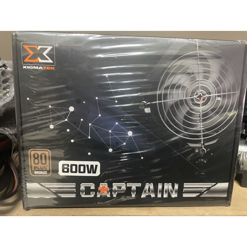 XIGMATEK Captain 600W 銅 電源供應器