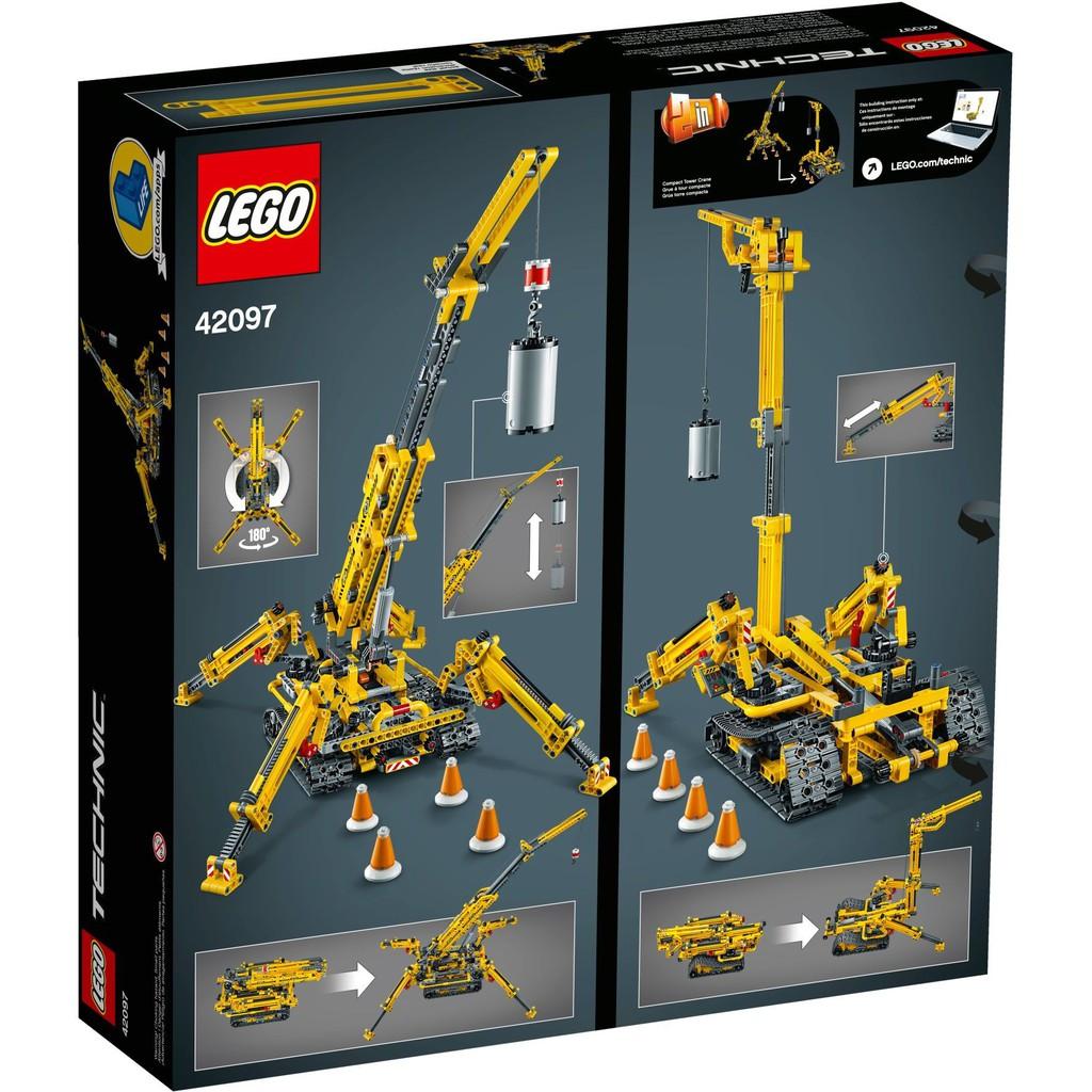 封膜收藏、可自取 LEGO42097 吊車【電積系】科技系列