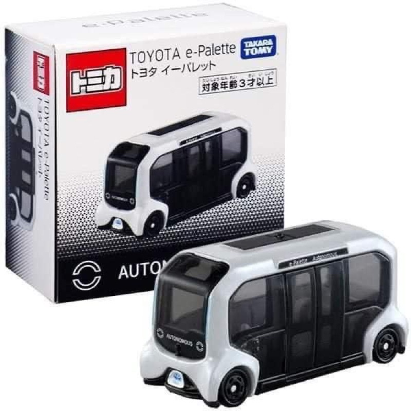 tomica tokyo e-palette 東京奧運選手村自動化接駁巴士