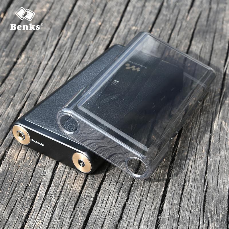 新品 下殺*BENKS定制 SONY索尼NW-WM1A硅膠套 水晶殼 WM1Z水晶軟殼 保護套