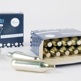 ⭐氣彈賣場⭐【現貨/ 刷卡分期】🔜drinkmate氣泡水機 CO2氣彈小鋼瓶、小氣彈、氣瓶(1盒10入) 5.0 臺北市