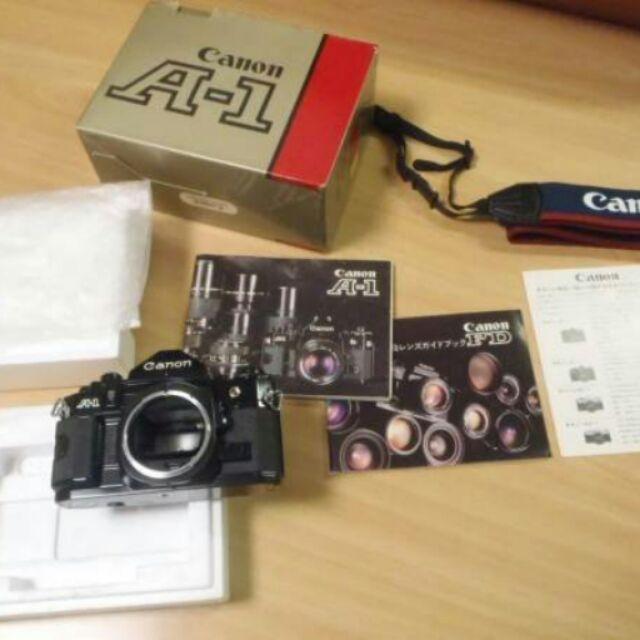 底片 單眼相機 Canon a 1 美品  鏡頭 50 1.4