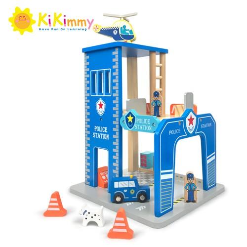 Kikimmy 城市警察木製玩具組K390 (廠商直送)