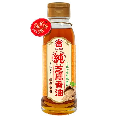 義美100%純芝麻香油110ML【愛買】