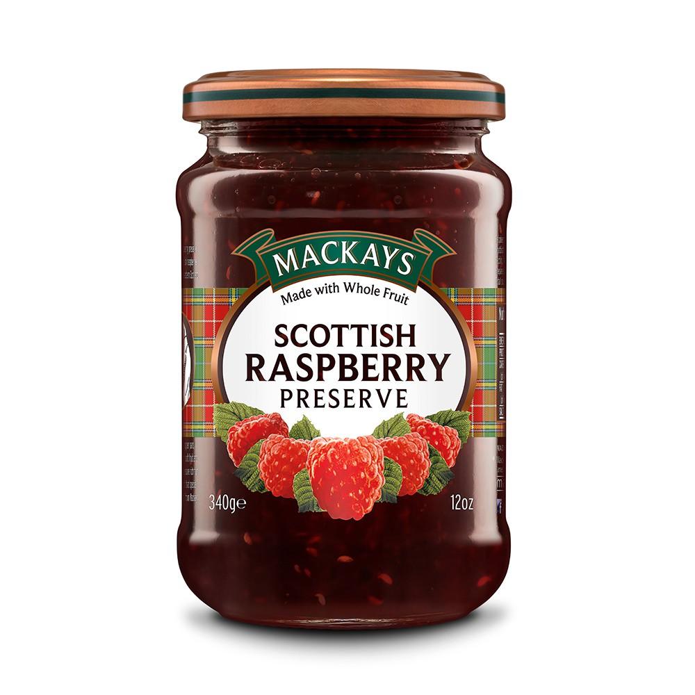 蘇格蘭 Mackays 梅凱 覆盆莓果醬 340g
