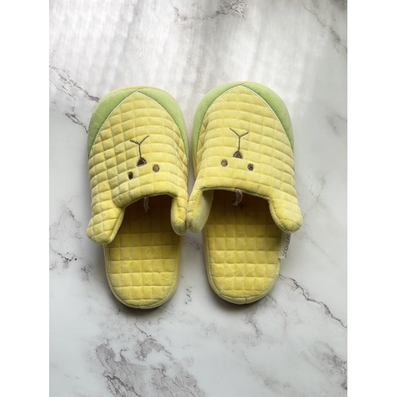 宇宙人 玉米室內拖鞋 Craftholic