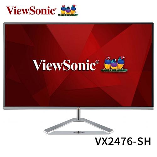ViewSonic 優派 VX2476-SH 24型 1080P 75Hz IPS 液晶 螢幕 顯示器
