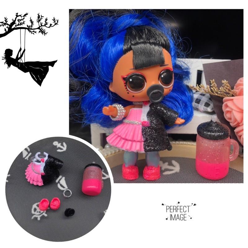 LOL 驚喜寶貝蛋 lol驚喜娃娃 lol surprise dolls 夜光閃亮版整套衣服娃衣