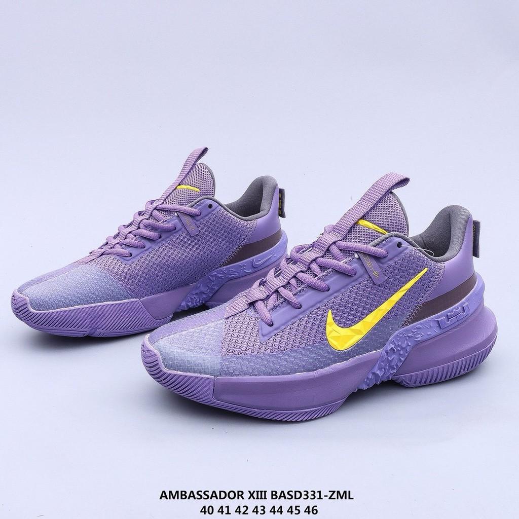 [zgh2008]Nike Ambassador XIII 13 藍球鞋