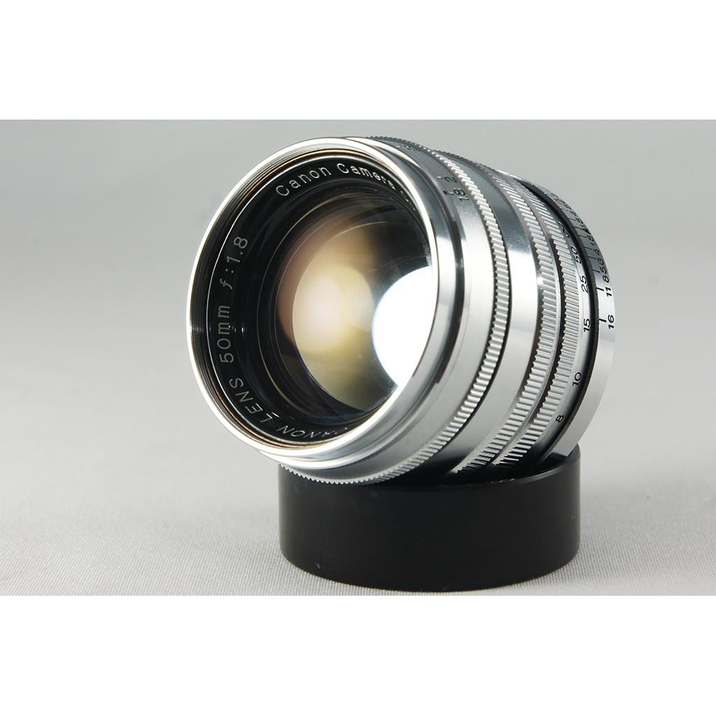**日光銀鹽** Canon Lens 50mm F1.8 L39/LTM接環 [收藏級]