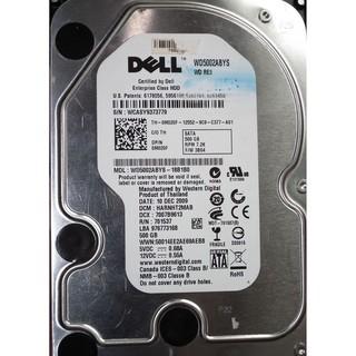 WD黑標WD5002abys-18b1b0 500GB 3.5吋 SATA 500G 桌機用硬碟7200轉DELL黑標 臺北市
