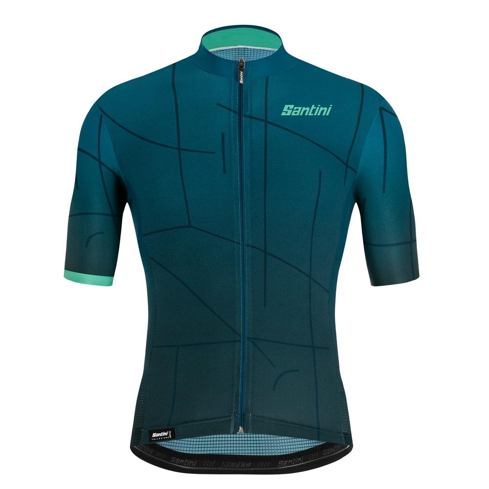 三色騎行服 SANTINI 專業高性能公路自行車騎行服上衣