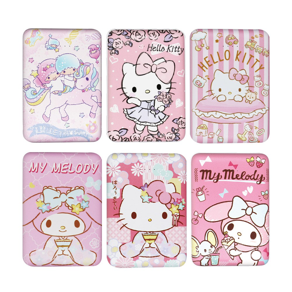 【Sanrio三麗鷗】Hello Kitty/美樂蒂/雙子星 10000series雙輸出 行動電源