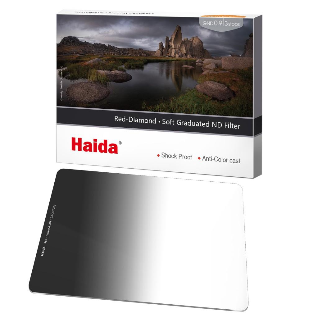 Haida 日全食系列 Soft GND0.9 軟漸變鏡 ND8 100x150mm HD4277 相機專家 [公司貨]