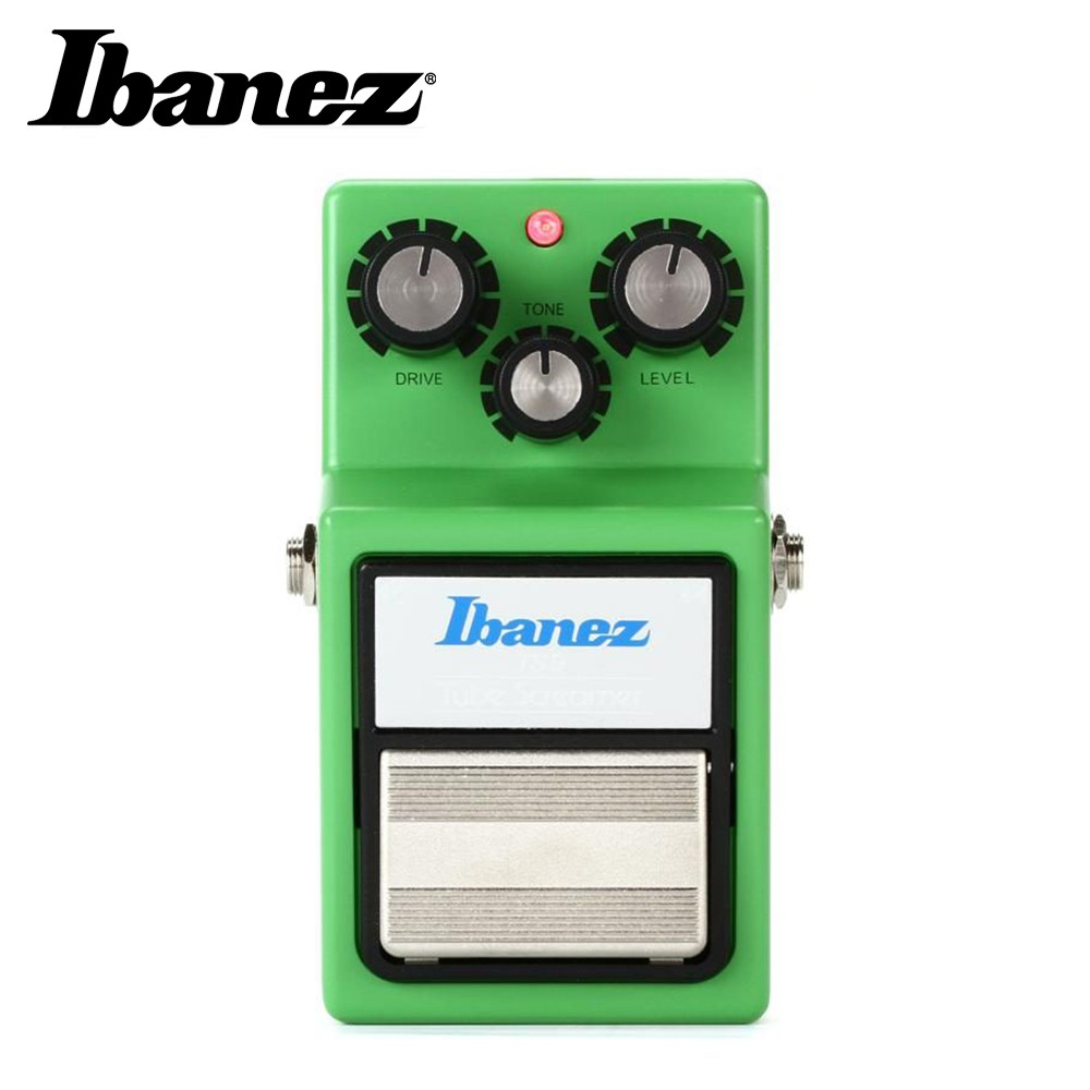 Ibanez Tube Screamer TS9 經典破音效果器【敦煌樂器】