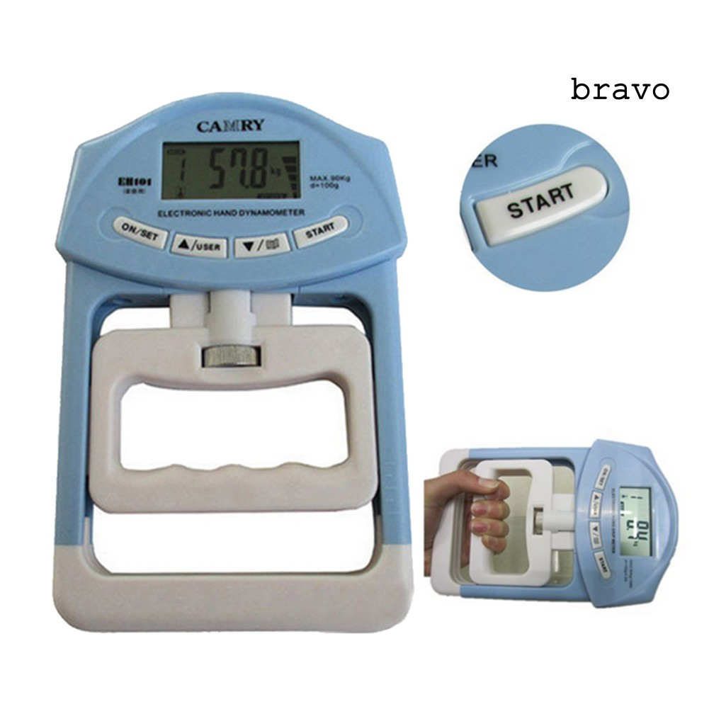 Bv-198Lb / 90kg 電子數字液晶手握強度血壓計測量儀