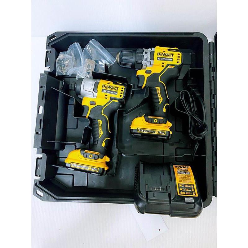 高雄二手工具王(三多店)全新 得偉12V DCF801 DCD701無刷 衝擊起子 電鑽 非DCF887 DCD996