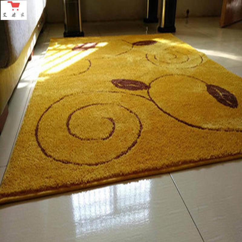 全場折扣PDD定制金黃色家用門口進門地墊客廳耐臟入戶防滑腳墊門墊臥室地毯
