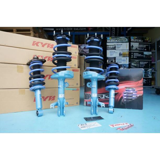 【酷熊】日本 KYB New SR 藍筒藍桶HONDA CRV 4th 2013~避震器筒身T S短彈簧