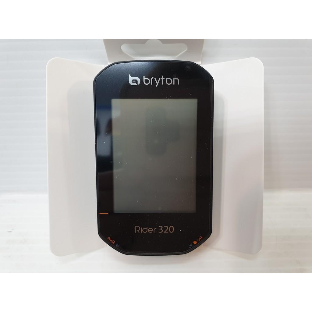 現貨 (320T主機+鋁合金延伸+踏頻感應器+心跳錶帶)Bryton Rider 320T GPS中文碼錶