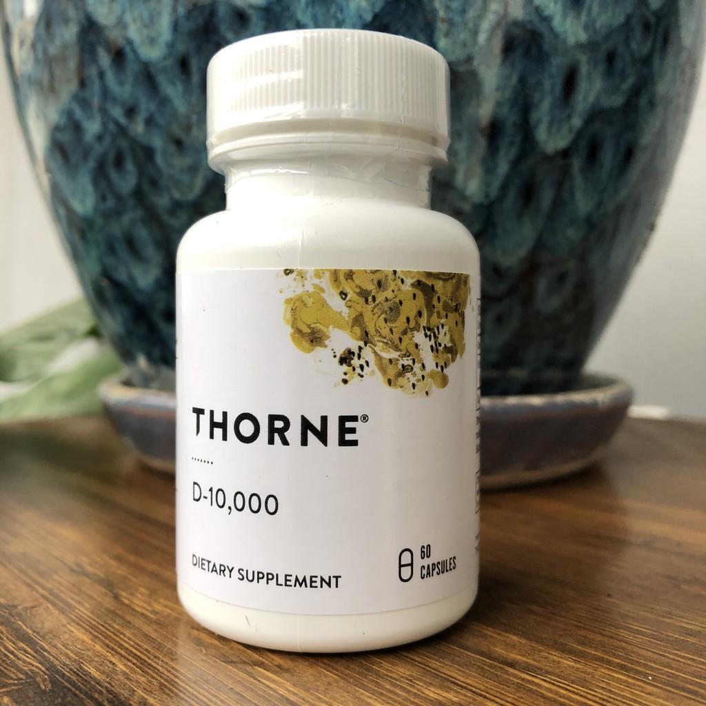 美連大健康美國Thorne Research D-10000維生素D3 60顆