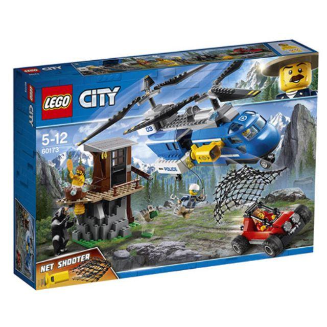 樂高 lego 60173 city 山區追捕 黑熊 直昇機 全新未開 現貨 lego60173