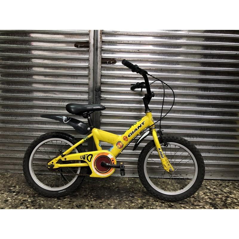 【台北二手腳踏車買賣】中古捷安特兒童車 GIANT KJ182 二手16吋兒童車 中古16吋兒童腳踏車