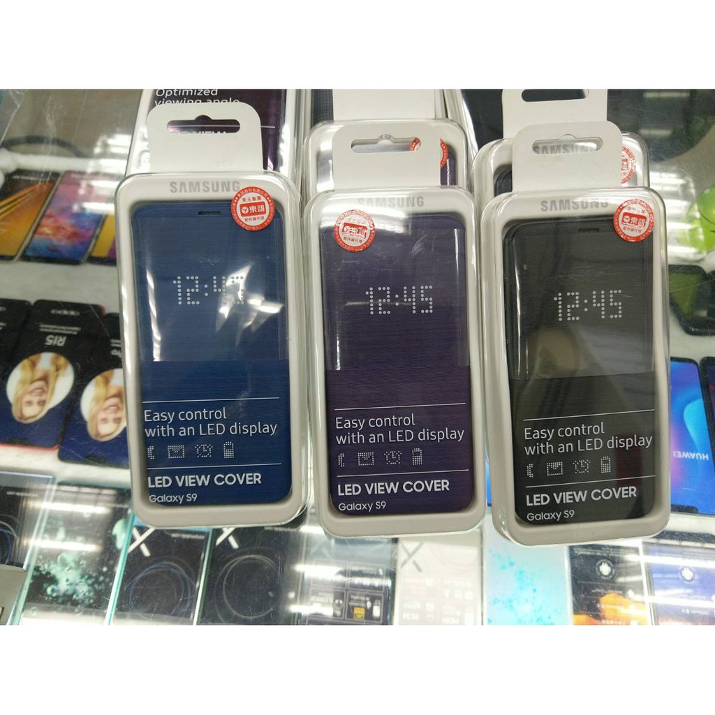 鳳山可自取 全新原廠未拆封 SAMSUNG Galaxy S9 G960 原廠LED翻頁皮套