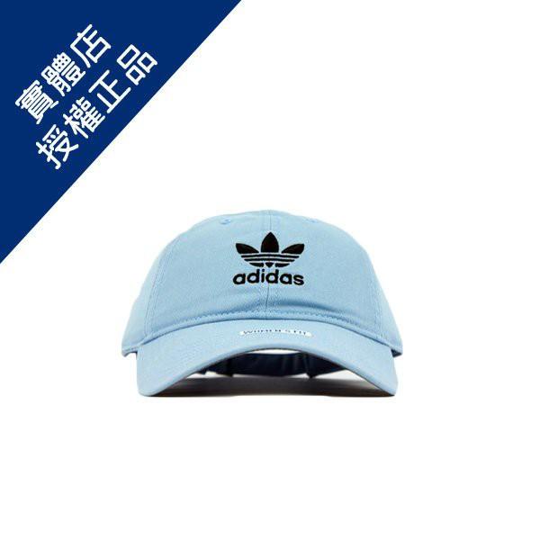 ADIDAS ORIGINALS RELAXED STRAPBACK 愛迪達 復古 淡藍 老帽 BH7132