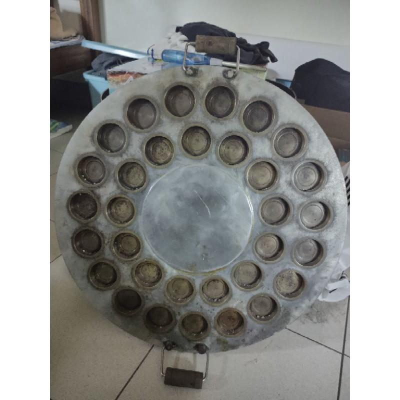 二手紅豆餅爐(圓形,32孔洞)