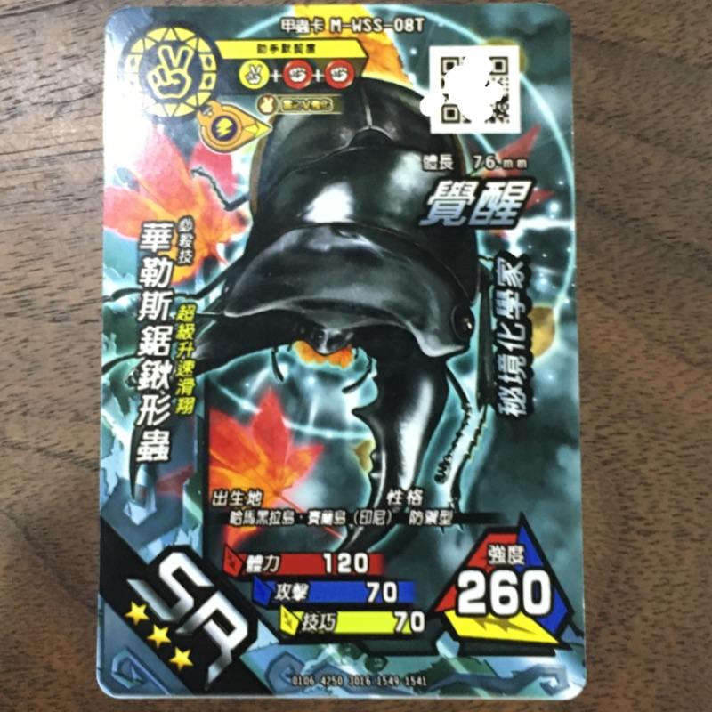 甲蟲王者 華勒斯鉅鍬形蟲 bingo卡