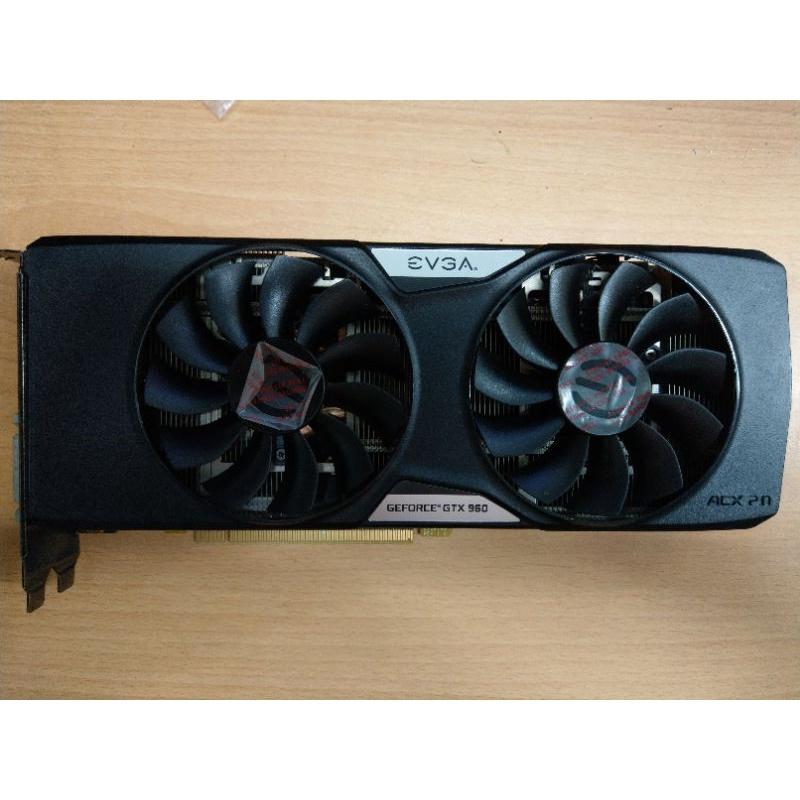 艾維克 EVGA GEFORCE GTX960 4G 顯示卡/二手良品