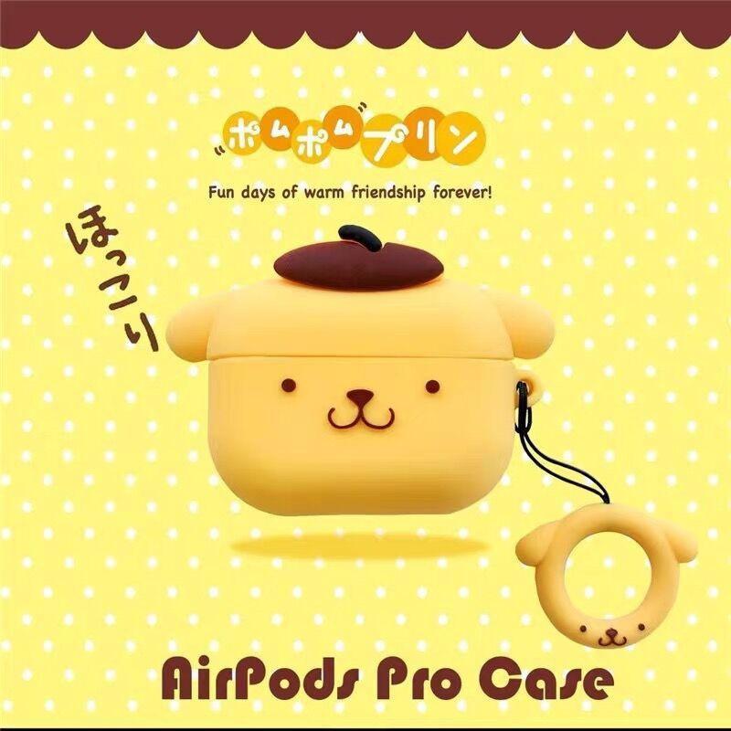 【飛駿雜貨店鋪】玉桂狗美樂蒂適用蘋果airpods pro保護套硅膠airpods3代耳機殼軟
