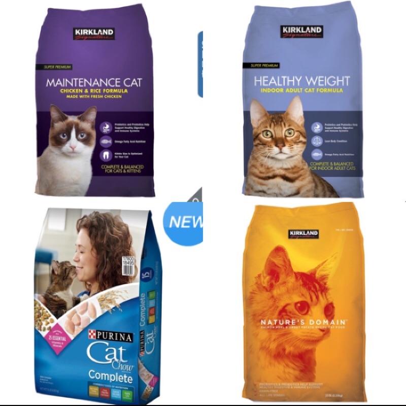 Costco 好市多 全系列 貓乾糧 貓飼料 紫包 雞肉米 體重管理化毛 鮭魚甘薯 CatChow 可兩包