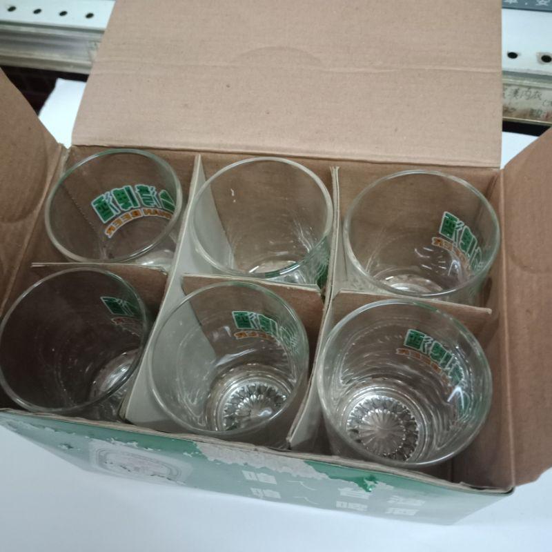 (盒損) 台灣啤酒 玻璃杯 飲料杯 水杯 啤酒杯