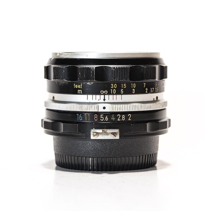 H Nikon Nikkor-H Auto 50mm F2 標準鏡頭 Non-ai 可改Ai