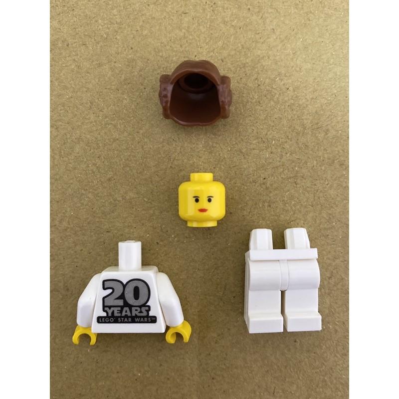 LEGO 樂高 人偶 莉亞公主 (20th Anniversary Torso) 星際大戰 75243