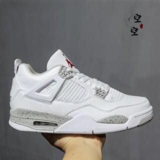 『空空』耐吉 Air Jordan 4 喬4 AJ4 白水泥鐳射奧利奧白紅元年鉤子 840606-192 嘉義縣