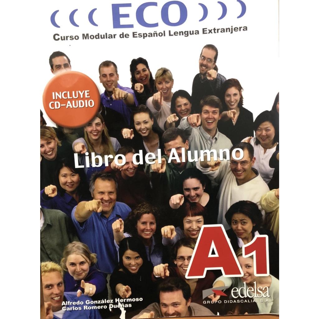 ECO A1 西文教材書(二手)