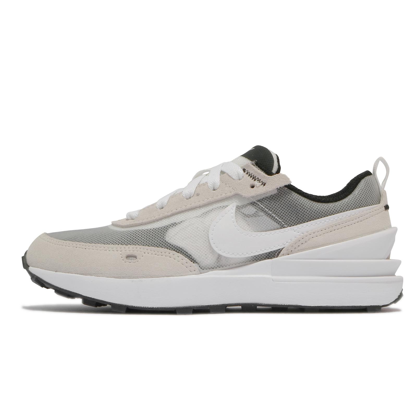 Nike 童鞋 Waffle One PS 灰 白 小Sacai 小朋友 運動鞋 半透明【ACS】 DC0480-100