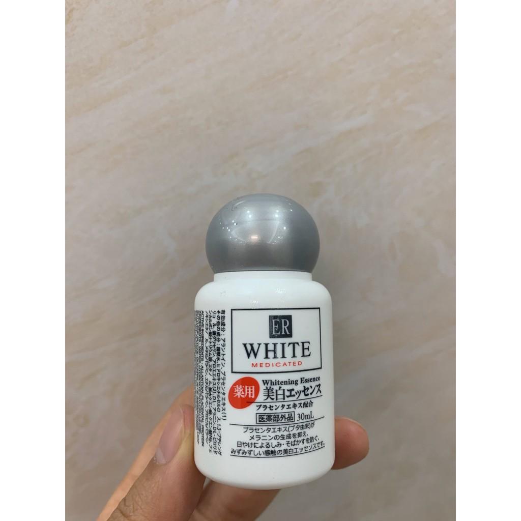 日本 DAISO 大創 美白精華 ER胎盤素 面部 全身 補水 保濕 曬后修復 精華液 30ml
