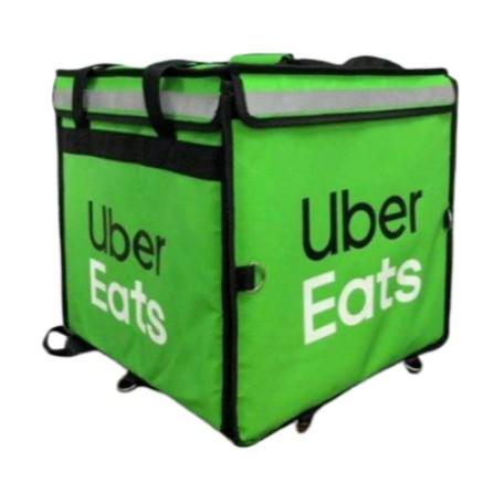 全新未拆 Uber eats 官方四代綠色大包