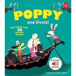 (現貨)全新英文版音效書-Poppy and Vivaldi 帕可好愛韋瓦第音效書(精裝版) 高雄市