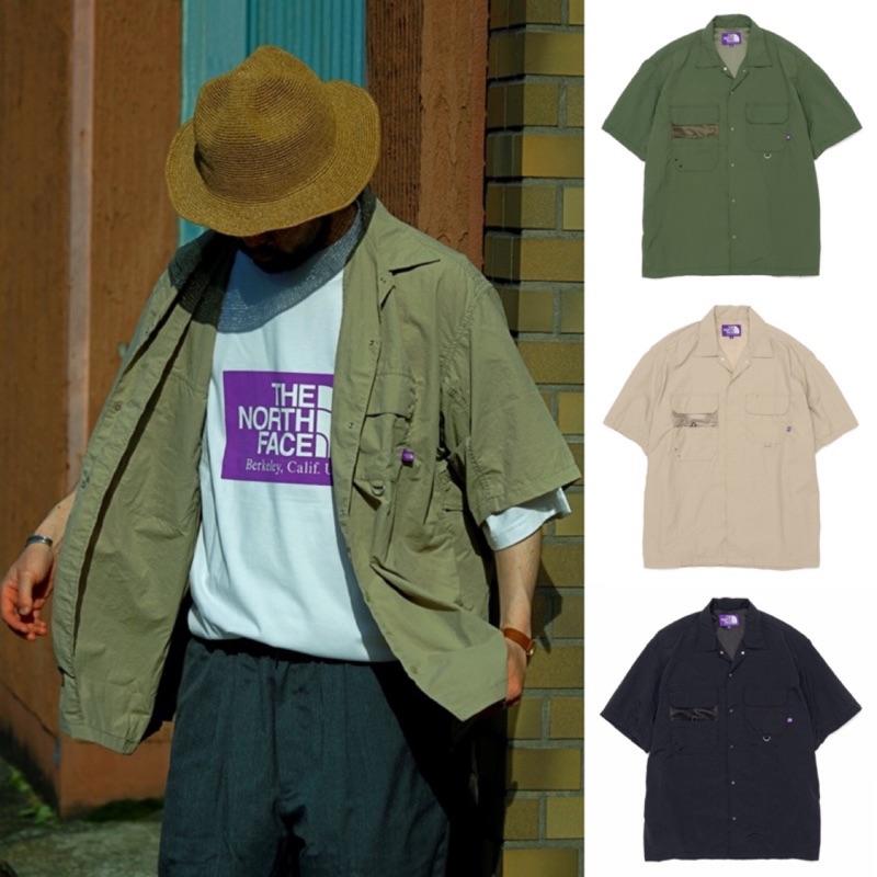 三色 THE NORTH FACE 紫標 口袋短袖 機能 釣魚 防水 工裝 CITY BOY BEAMS SSZ 代購